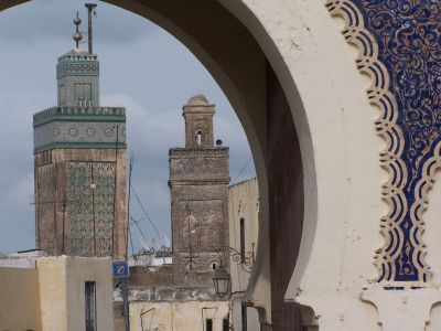 Fes - Stadt in Marokko