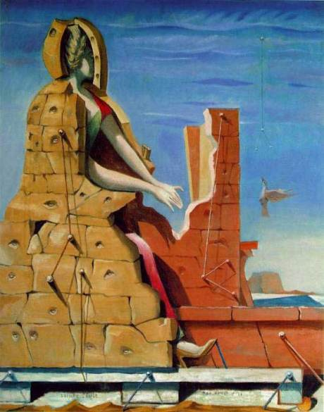 Max Ernst - Die heilige Cäcilie