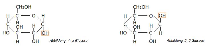 Ringstruktur der Glucose